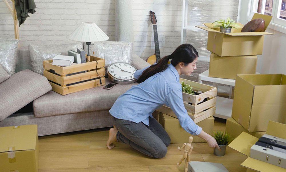 débarras avant ou après déménagement
